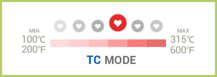 Istick 40TC controle temperature