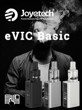 Manuel utilisateur Joyetech eVic Basic