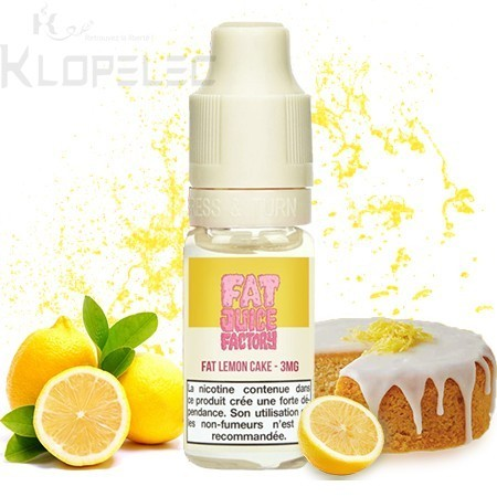 Fat Lemon Cake - Fat Juice Factory by PULP