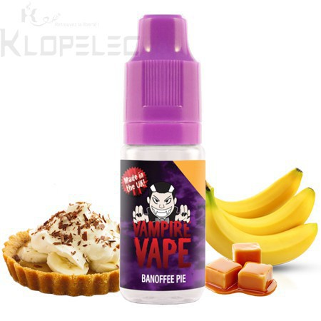 Vampire Vape Banoffee Pie