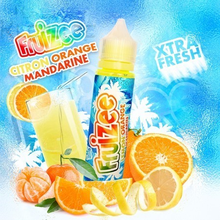 Citron Orange Mandarine 50ml - Fruizee de Eliquid France