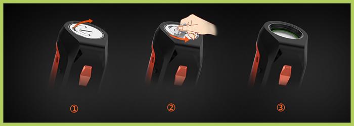 Accu interchangeable Geek Vape KIT AEGIS SOLO 100W